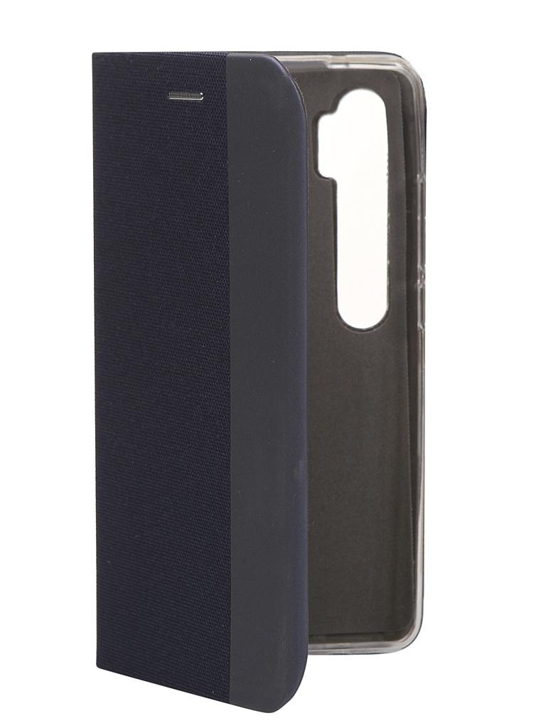Чехол Fono для Xiaomi Redmi Note 10 Folio Case Blue 9974