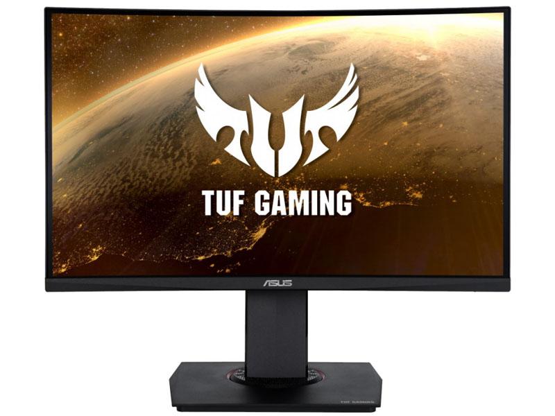 Фото - Монитор ASUS TUF Gaming VG24VQ 23.6 монитор asus tuf gaming vg32vq 31 5 черный