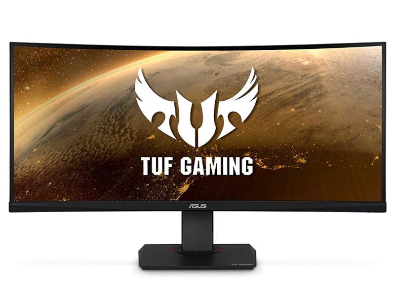 Монитор ASUS TUF Gaming VG35VQ 90LM0520-B01170 монитор игровой asus tuf gaming vg35vq 35 темно серый [90lm0520 b01170]