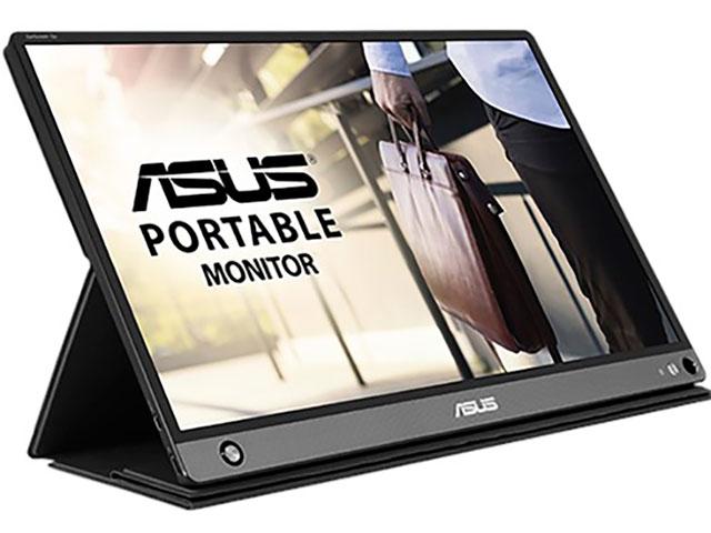 Монитор ASUS ZenScreen MB16AHP 90LM04T0-B01170 монитор asus 31 5 vg32vq 90lm04i0 b01170 black
