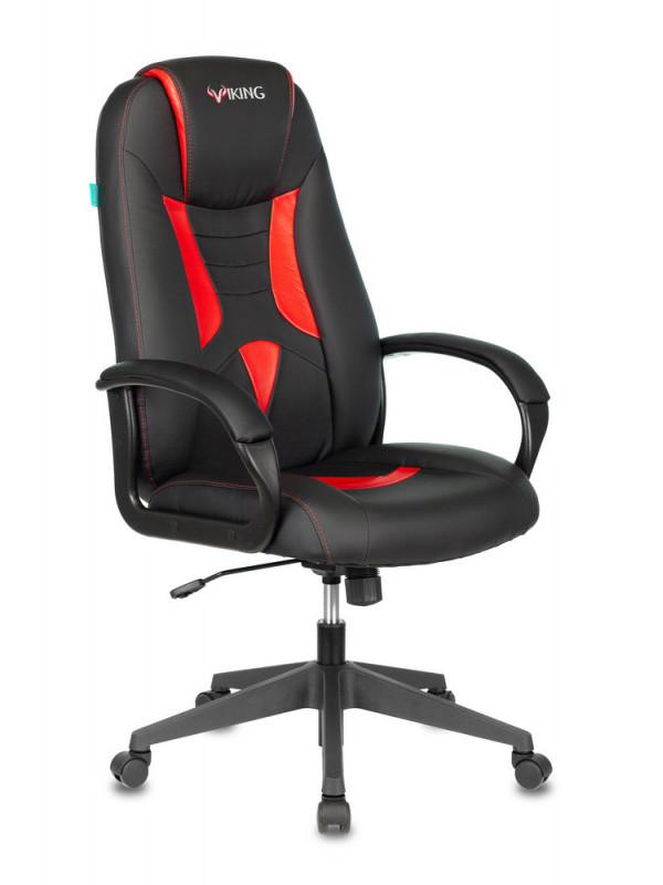 Компьютерное кресло Бюрократ Viking-8N Black-Red /BL-RED