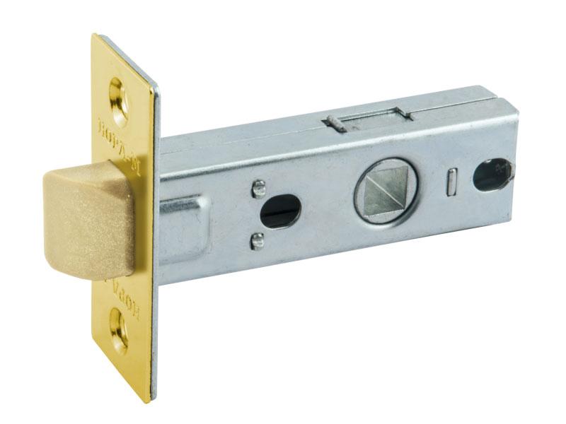 Дверная защелка Нора-М С-45П Polished Brass 15466