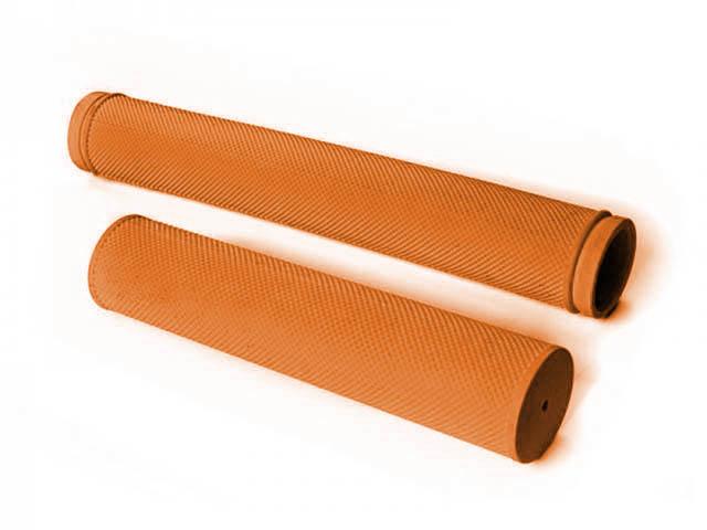 Грипсы Velo VLG-520 Closed End 175mm Orange