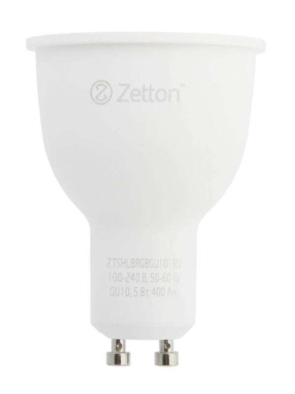 Лампочка Zetton LED RGBW Smart Wi-Fi Bulb GU10 5W ZTSHLBRGBGU101RU
