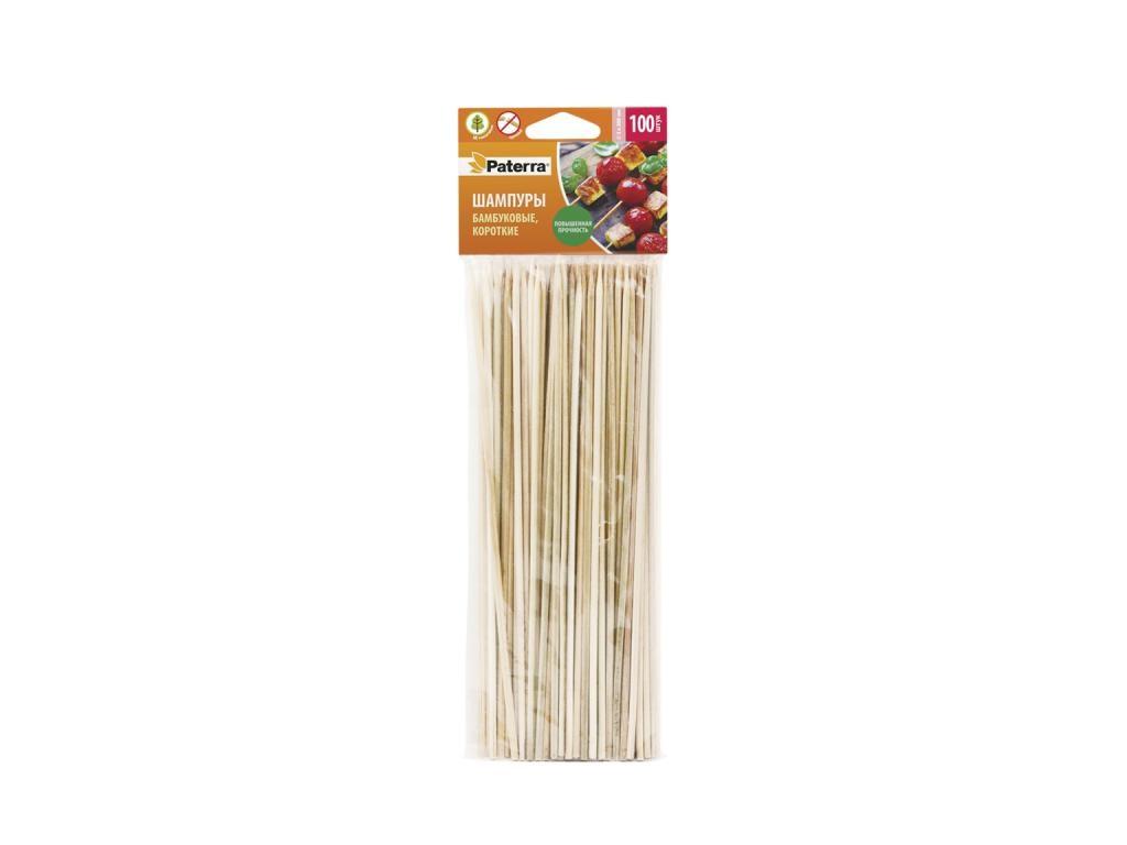 Шампуры бамбуковые Paterra 200mm 100шт 401-697