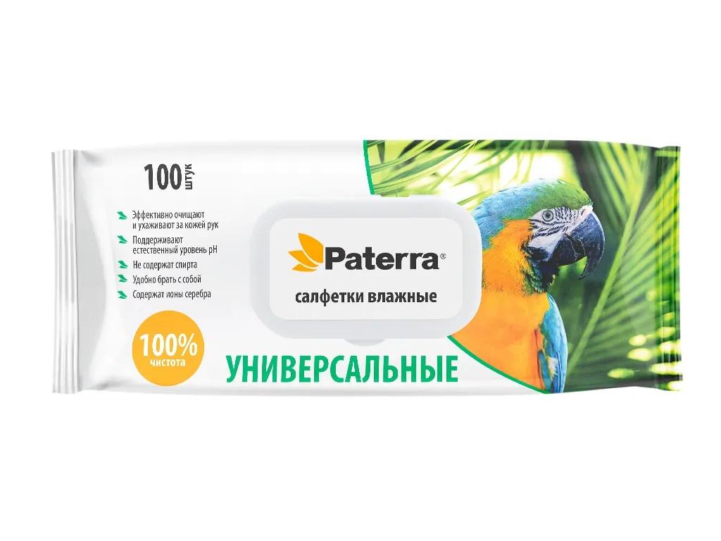 Салфетки Paterra Универсальные 100шт 104-099