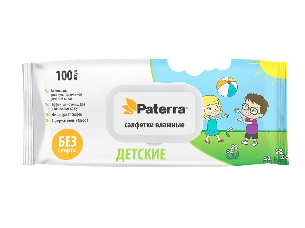 Салфетки Paterra Детские 100шт 104-100