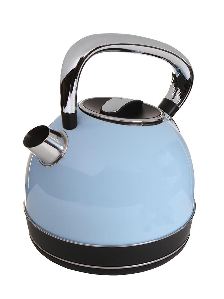 Чайник Kitfort KT-696-2 1.7L Blue