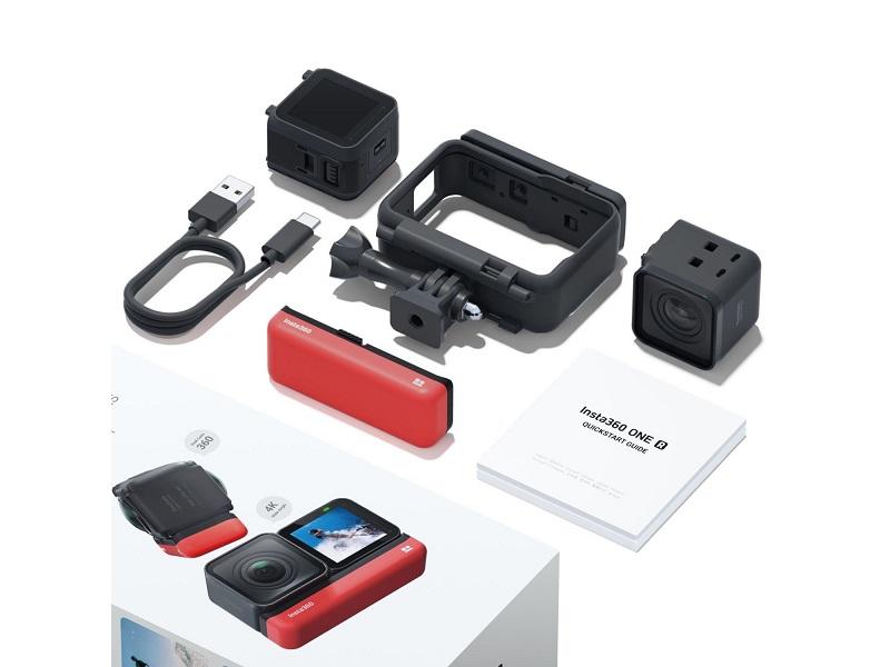 Экшн-камера Insta 360 One R 4K