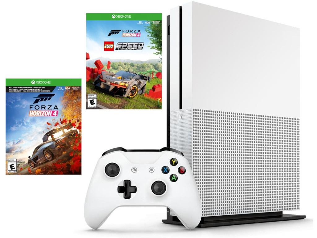 Игровая приставка Microsoft Xbox One S 1Tb + Forza Horizon 4 Lego DLC 234-01131
