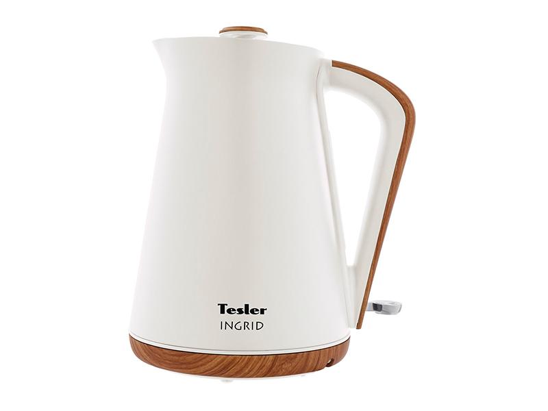 Фото - Чайник Tesler KT-1740 1.7L White чайник tesler kt 1755 red