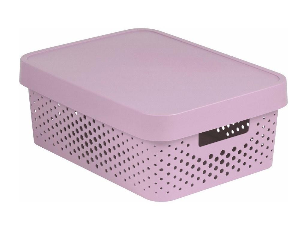 Коробка Curver Infinity 11L Pink 04753-X51-00