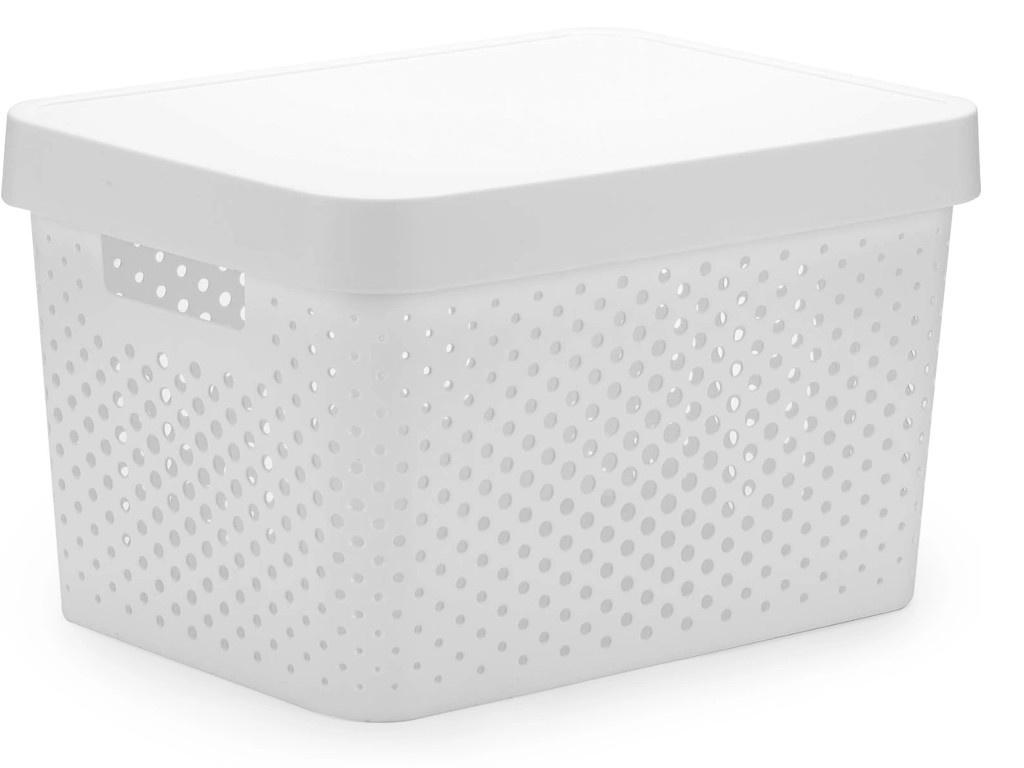 Коробка Curver Infinity 17L White 04742-N23-00