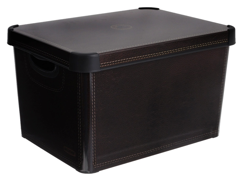 Короб Curver Стокгольм 22L Leather 04711-D12