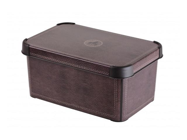 Короб Curver Стокгольм 6L Leather 04710-D12
