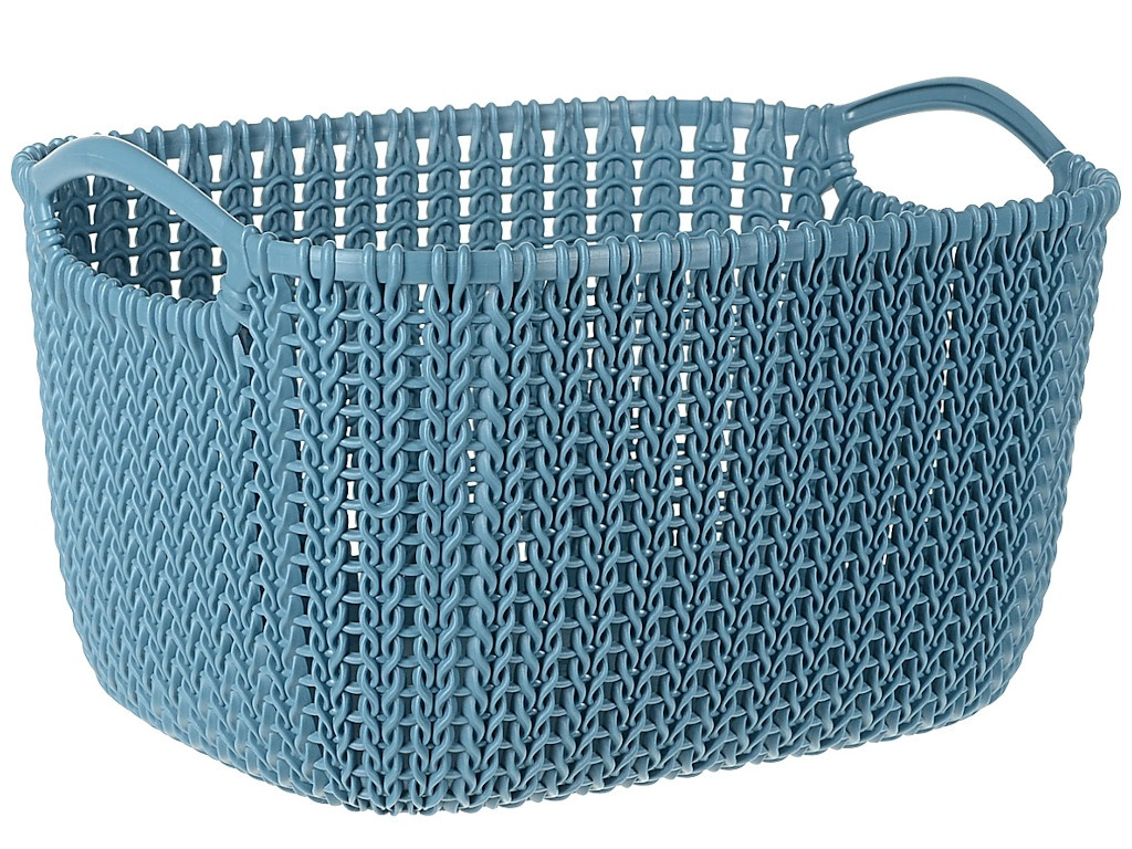 Корзина Curver Knit S 8L Sea Wave 03674-X65-00