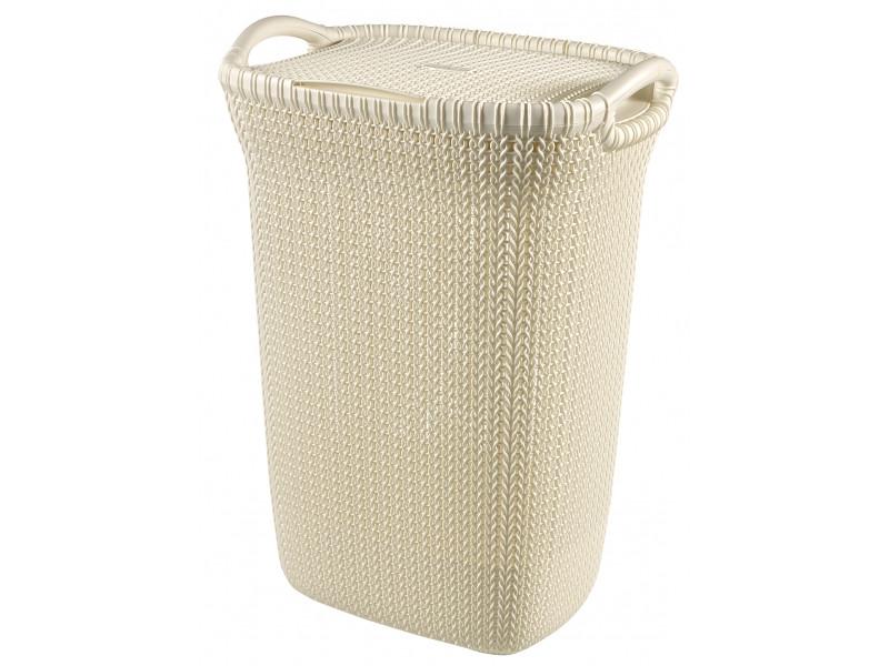 Корзина для белья Curver Knit 57L White 03676-X64-00