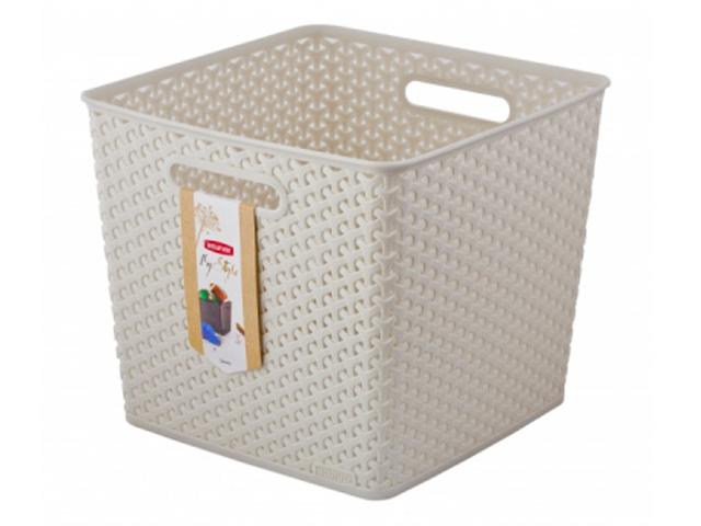 Коробка Curver My Style Square Cream 03613-885