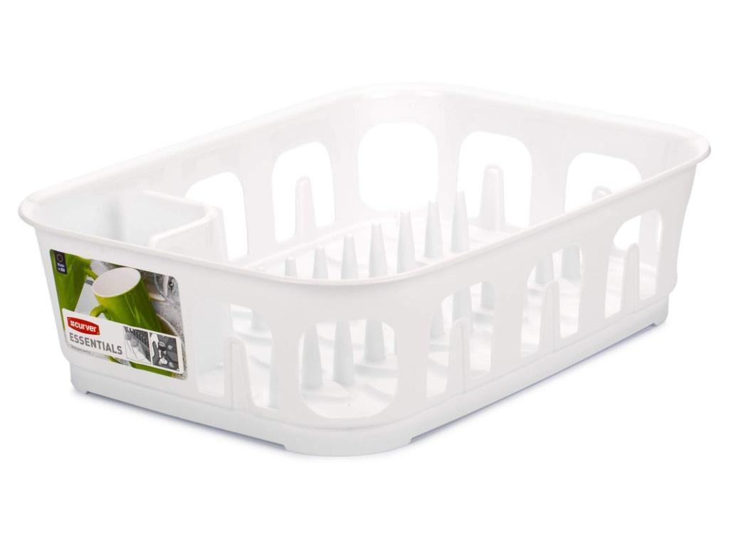 Фото - Сушилка для посуды Curver Essentials White 00743-059-00 тпэ 3 287 1 0 00