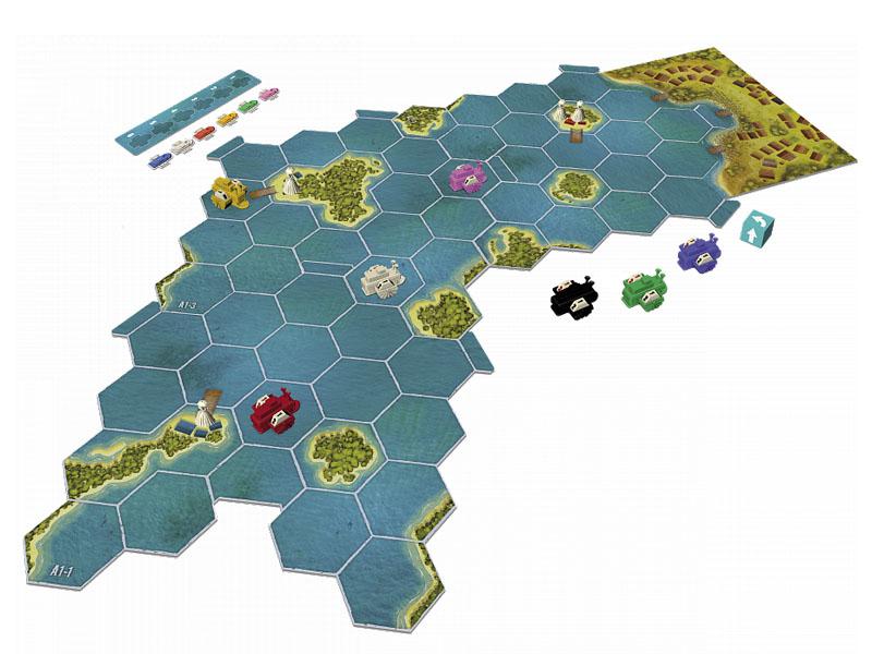 Настольная игра Zvezda Королева Миссисипи 8985