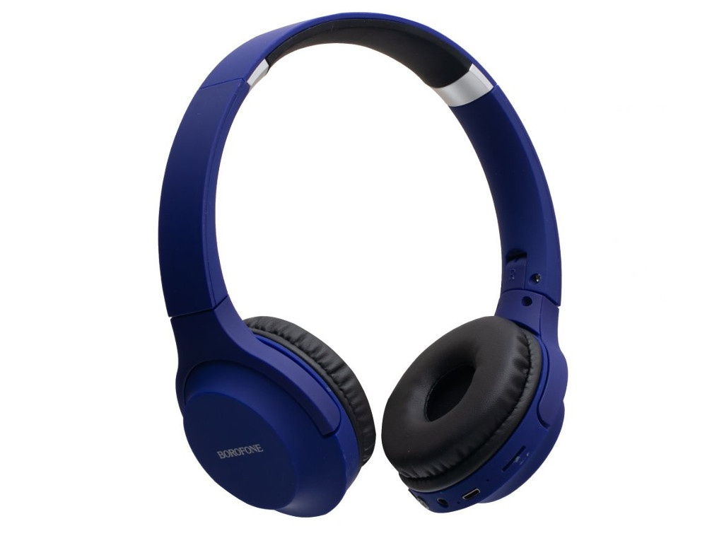 Наушники Borofone BO6 Poise Rhyme Blue