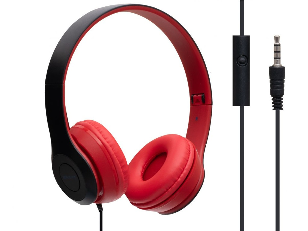Наушники Borofone BO5 Star Sound Red
