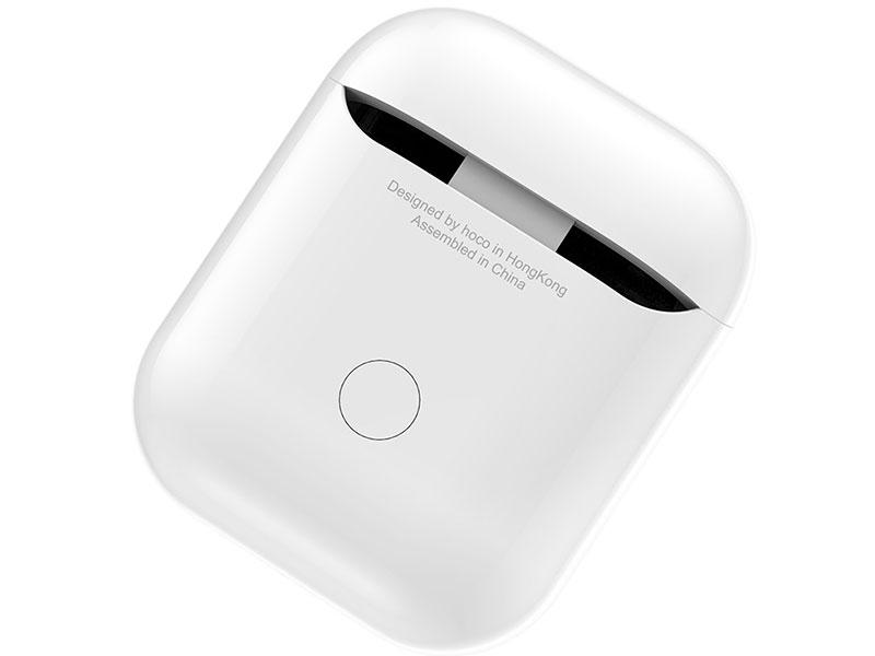 Беспроводной зарядный бокс Hoco CW18 для AirPods White