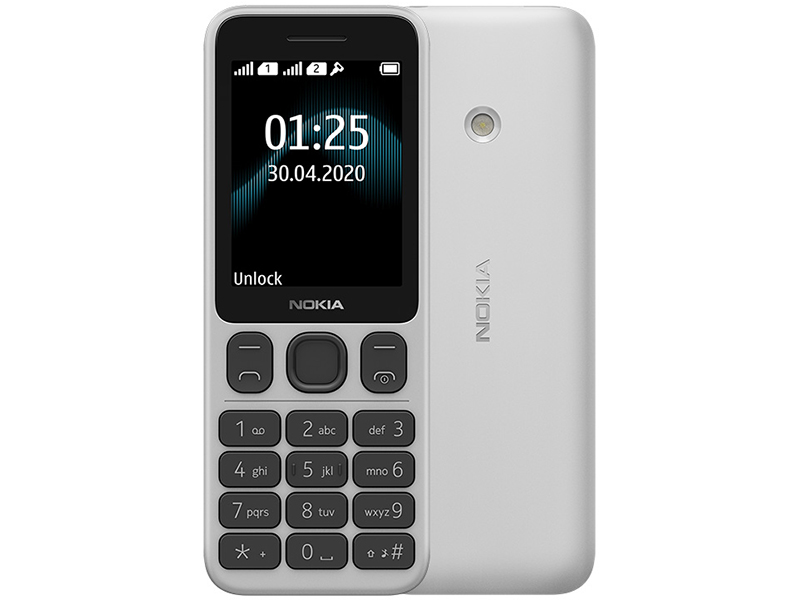 Сотовый телефон Nokia 125 Dual Sim White