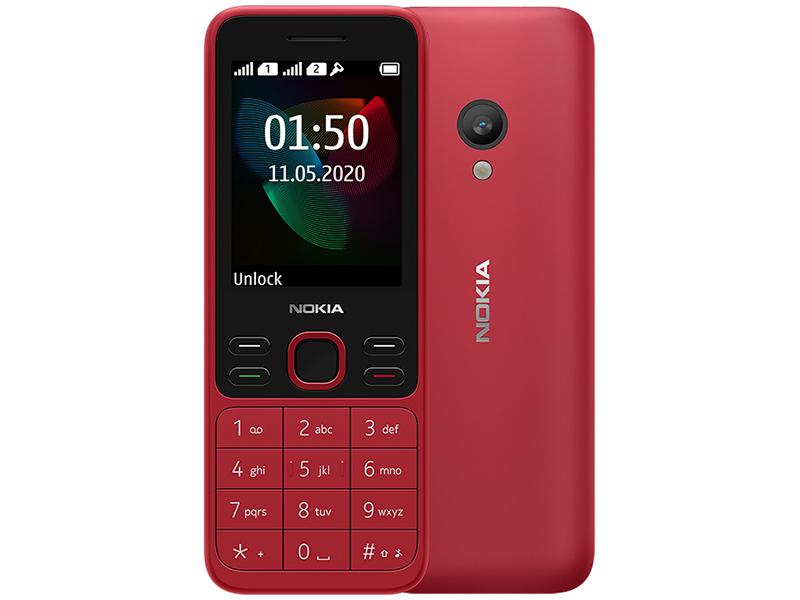 Сотовый телефон Nokia 150 (2020) Dual Sim Red