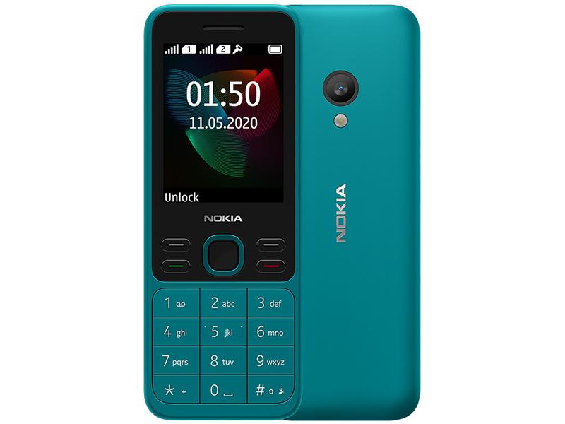 Сотовый телефон Nokia 150 (2020) Dual Sim Blue сотовый телефон nokia 105 blue