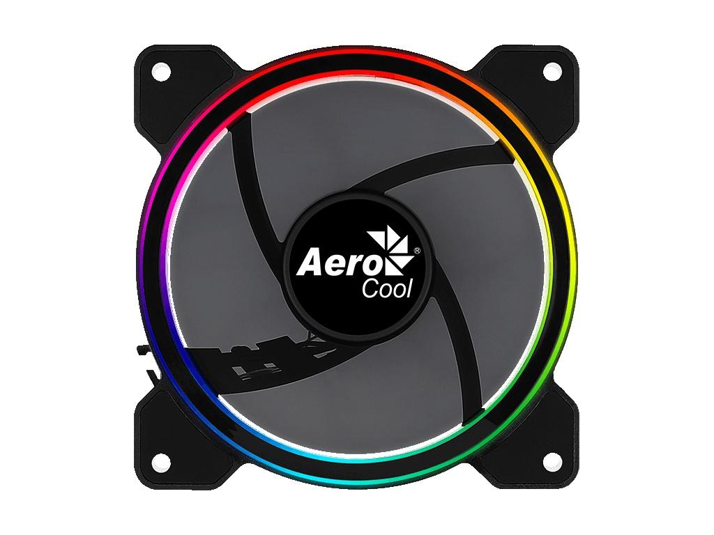 Вентилятор AeroCool Fan Saturn 12 FRGB 120mm 4710562754087