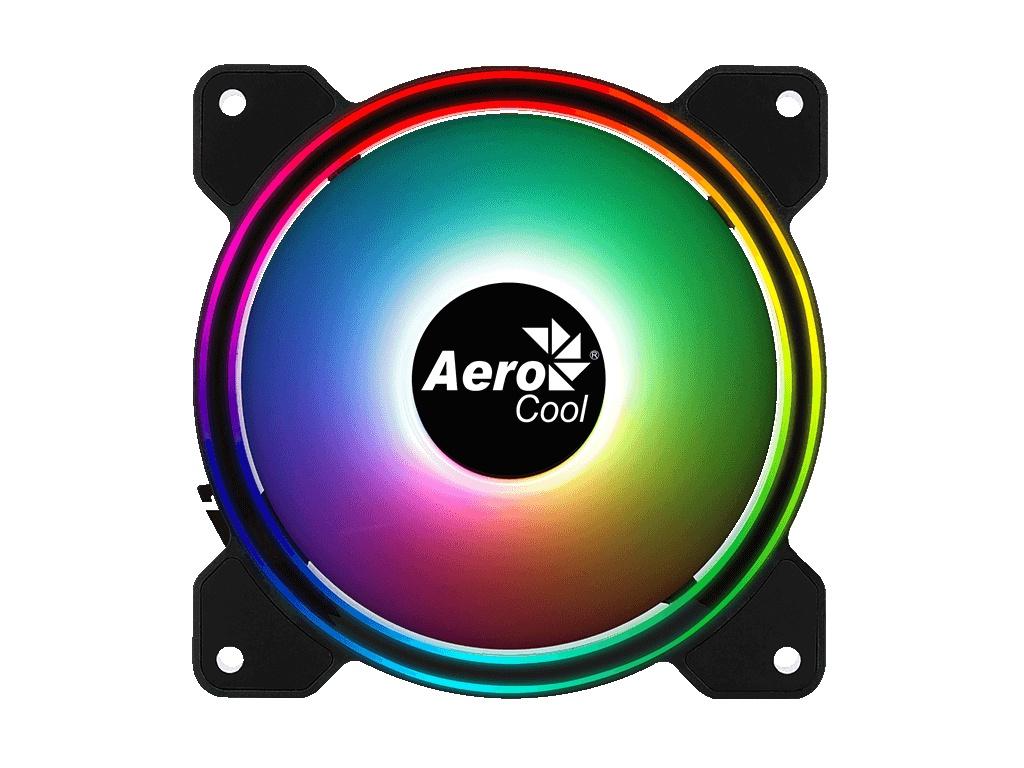 Вентилятор AeroCool Fan Saturn 12F ARGB 120mm 4710562754100 цена 2017