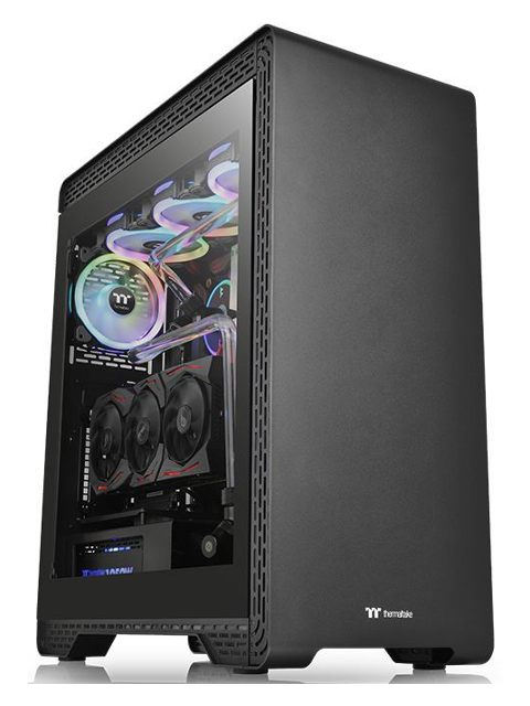 Корпус Thermaltake Case Tt S500 TG Black Steel CA-1O3-00M1WN-00