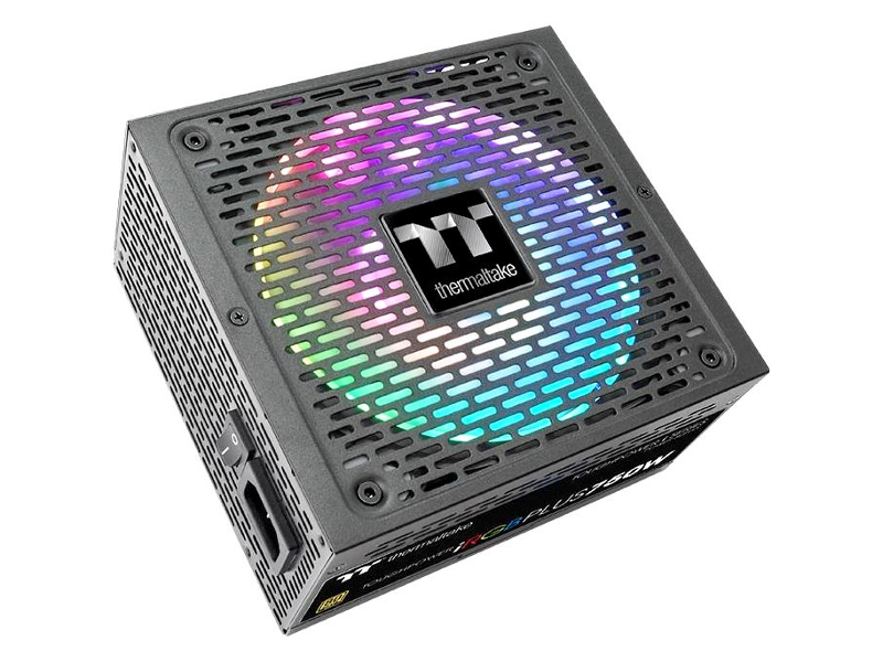 Блок питания Thermaltake PSU TT_Toughpower iRGB Plus 80+ Gold 750W PS-TPI-0750F3FDGE-1