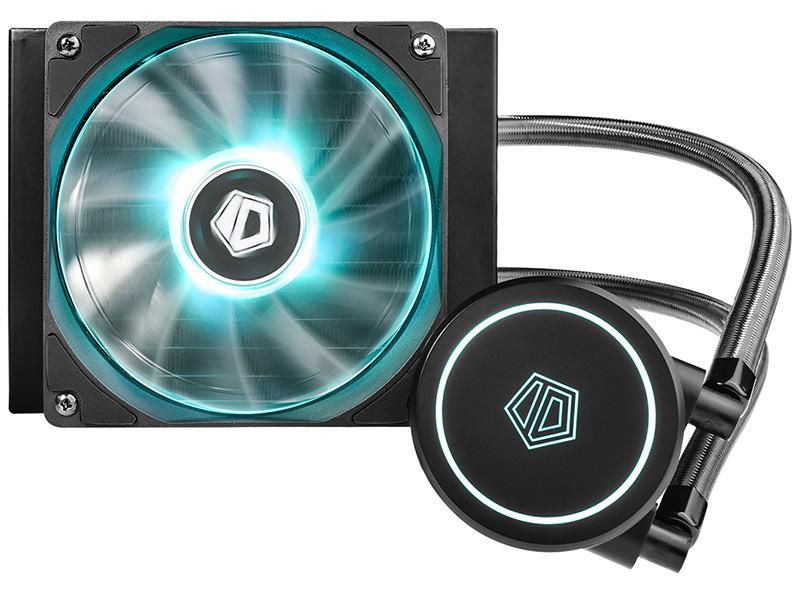 Водяное охлаждение ID-COOLING AURAFLOW X 120 RGB Black