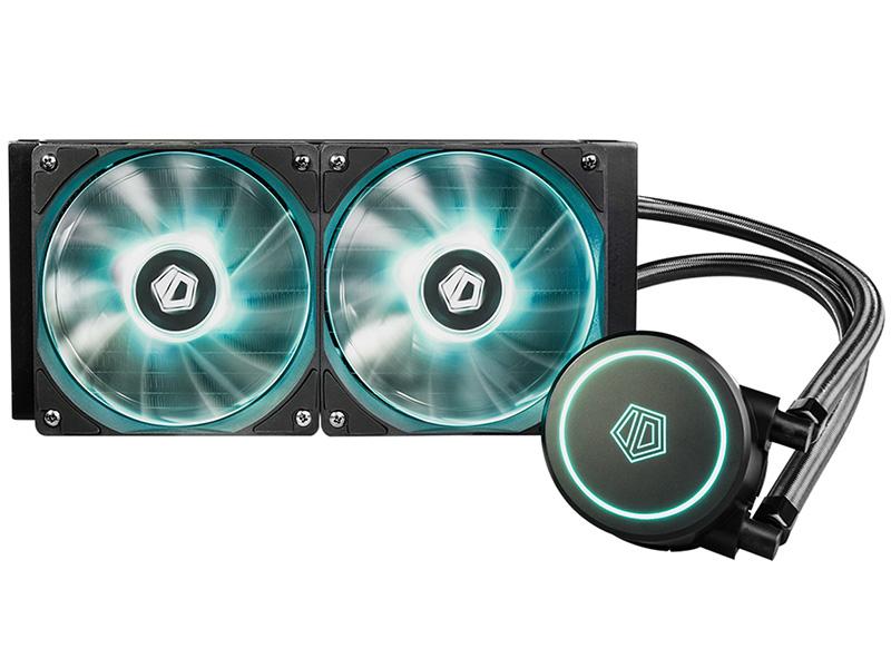 Водяное охлаждение ID-COOLING AURAFLOW X 240 RGB Black