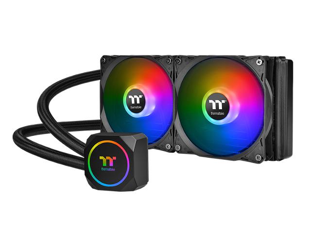 Водяное охлаждение Thermaltake TH240 ARGB CL-W286-PL12SW-A (Intel LGA 1156/1155/1151/1150// AMD FM2/FM1/AM4/AM3+/AM3/AM2+/AM2) система водяного охлаждения corsair h60 s1155 1156 1151 s2066 s2011 am2 am3 am3 am3 cw 9060036 ww ret