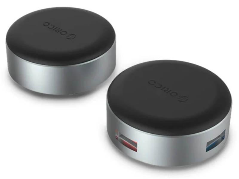 Хаб USB Orico ANS1 Silver