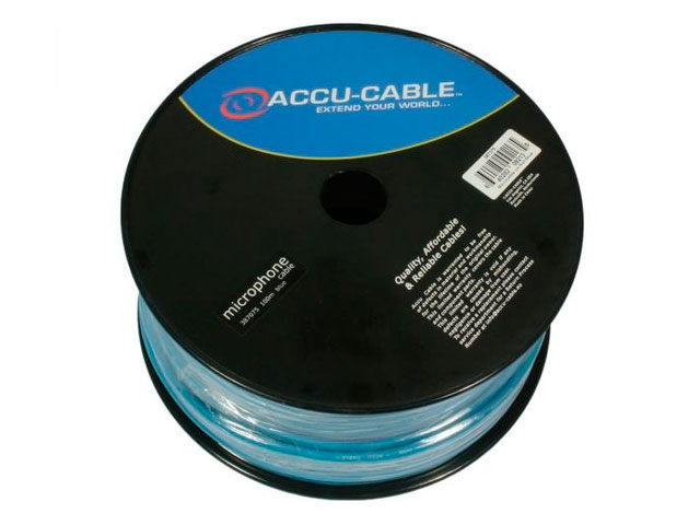 Кабель микрофонный American DJ 100m Blue AC-MC/100R-BL
