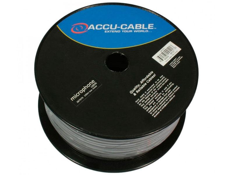 Фото - Кабель микрофонный American DJ 100m Black AC-MC/100R-BK кабель