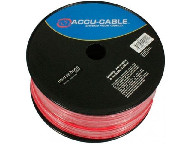 Кабель микрофонный American Dj 100m Red AC-MC/100R-RD