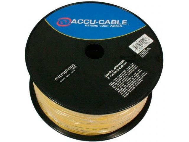 Кабель микрофонный American Dj 100m Yellow AC-MC/100R-Y