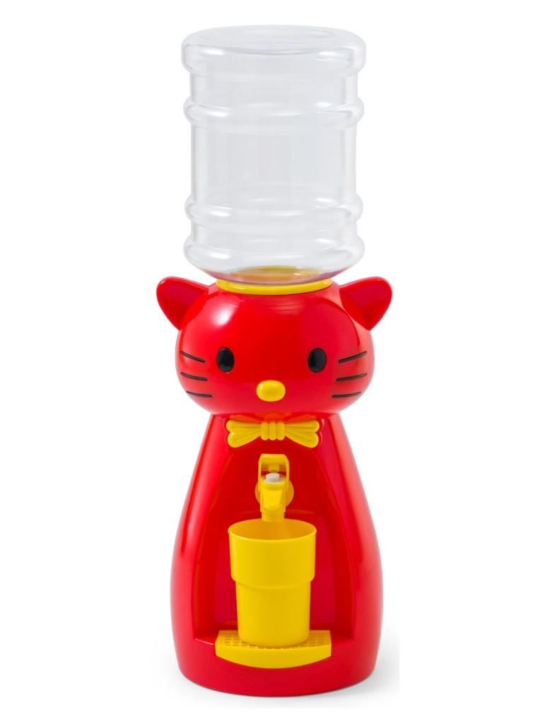 Кулер Vatten Kids Kitty со стаканчиком Red 4905