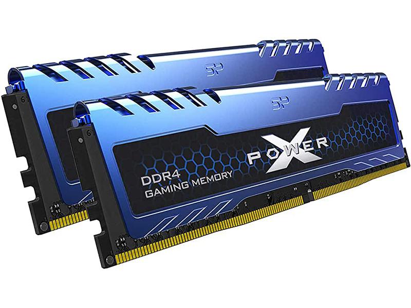 Модуль памяти Silicon Power Xpower Turbine DDR4 DIMM 2666Mhz PC-21300 CL16 - 16Gb Kit (2x8Gb) SP016GXLZU266BDA