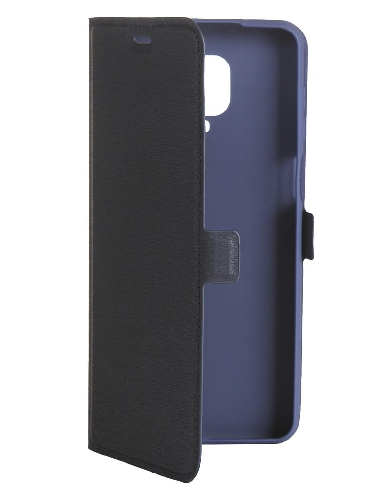 Чехол DF для Xiaomi Redmi Note 9S / 9 Pro / 9 Pro Max xiFlip-58 Blue