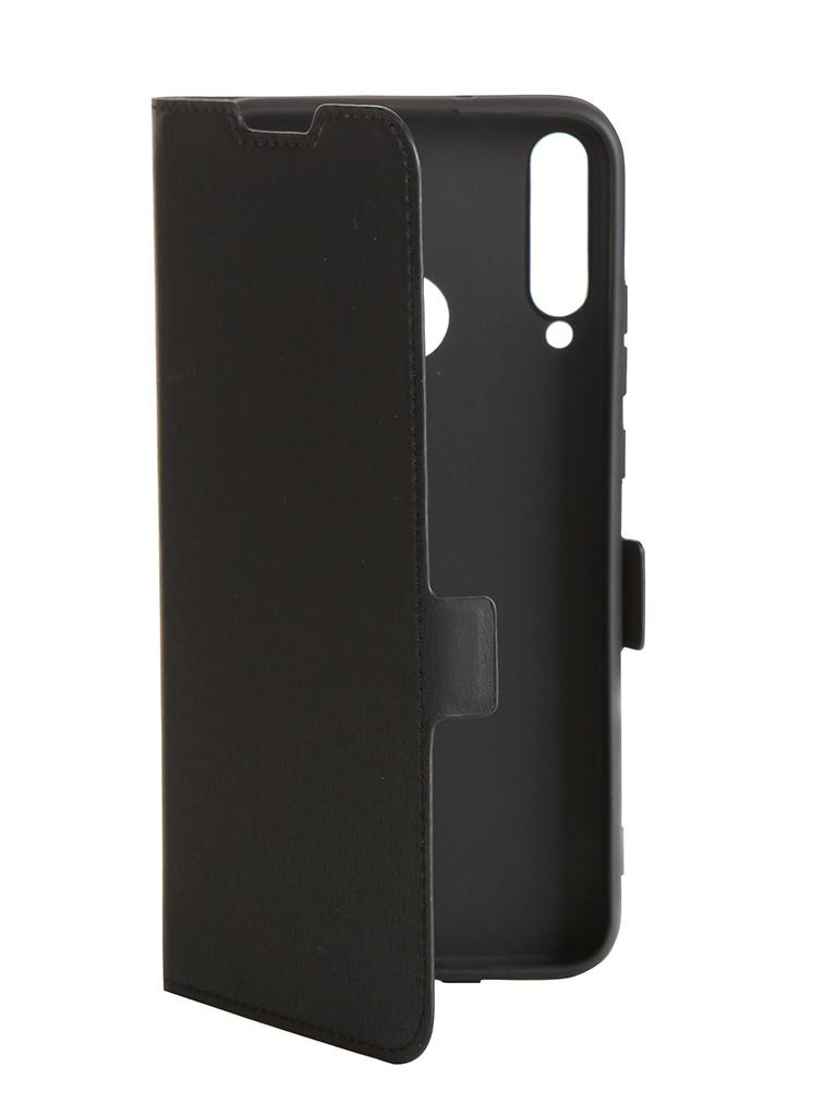 Фото - Чехол DF для Huawei P40 Lite E / Honor 9C DF hwFlip-82 Black чехол df для honor 30 pro black hwflip 84