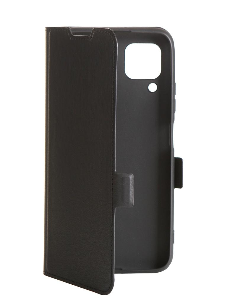 Чехол DF для Huawei P40 Lite hwFlip-81 Black