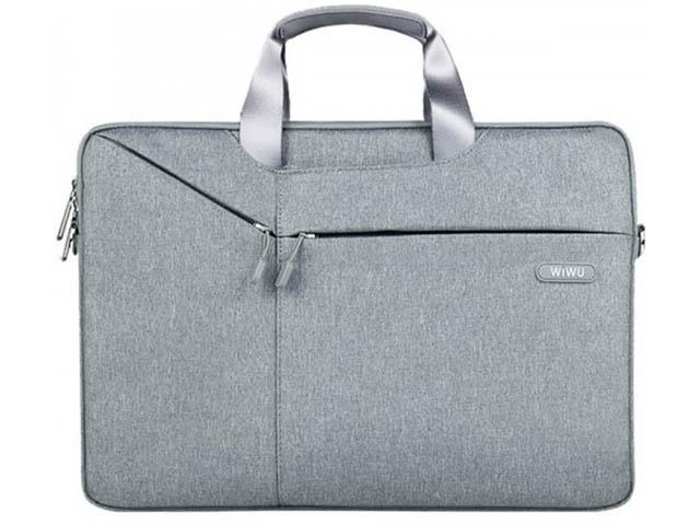 Сумка 15.6-inch Wiwu Gent Business Handbag Light Grey 6957815508297