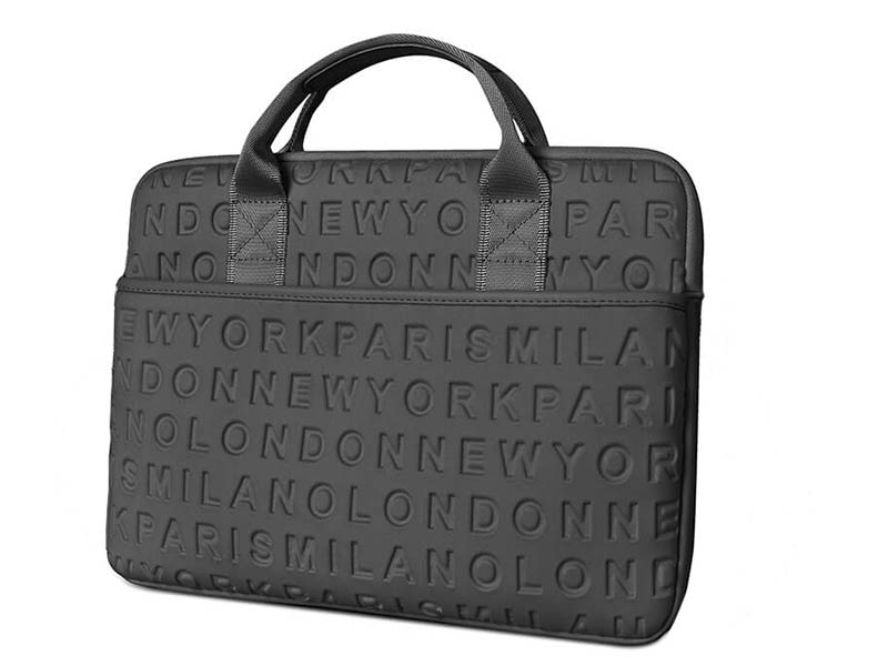 Сумка 15.4-inch Wiwu Vogue Laptop Slim Bag Black 6957815515851