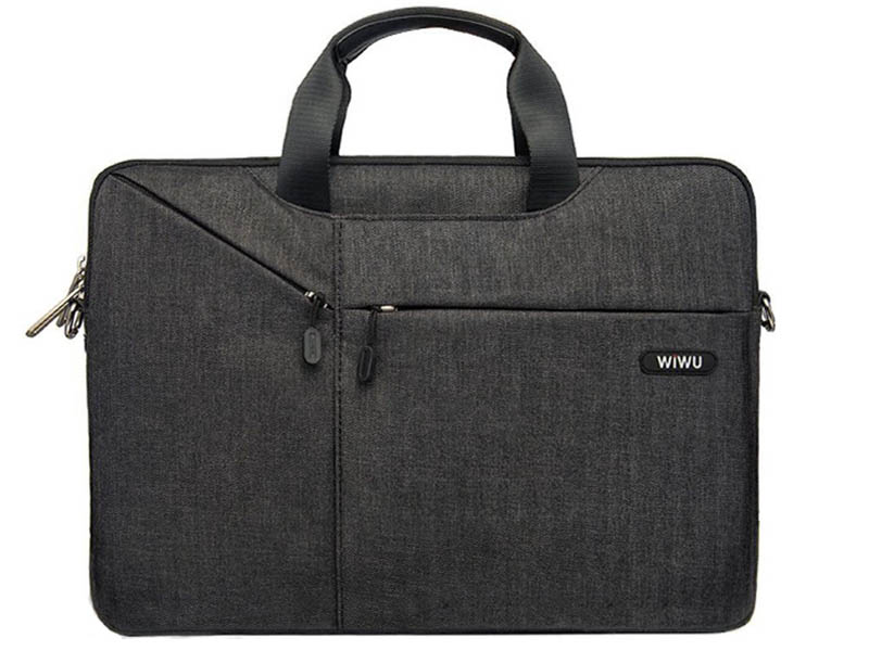 Сумка 12.0-inch Wiwu Gent Business Handbag Black 6957815503896